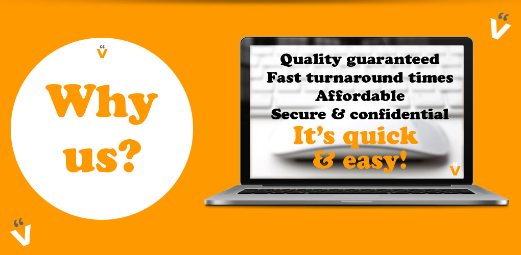 Quality guaranteed, fast turnaround times, competitive pricing, secure and confidential proofreading services
